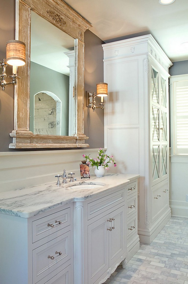 58+ Beautiful Master Bathroom Remodel Ideas