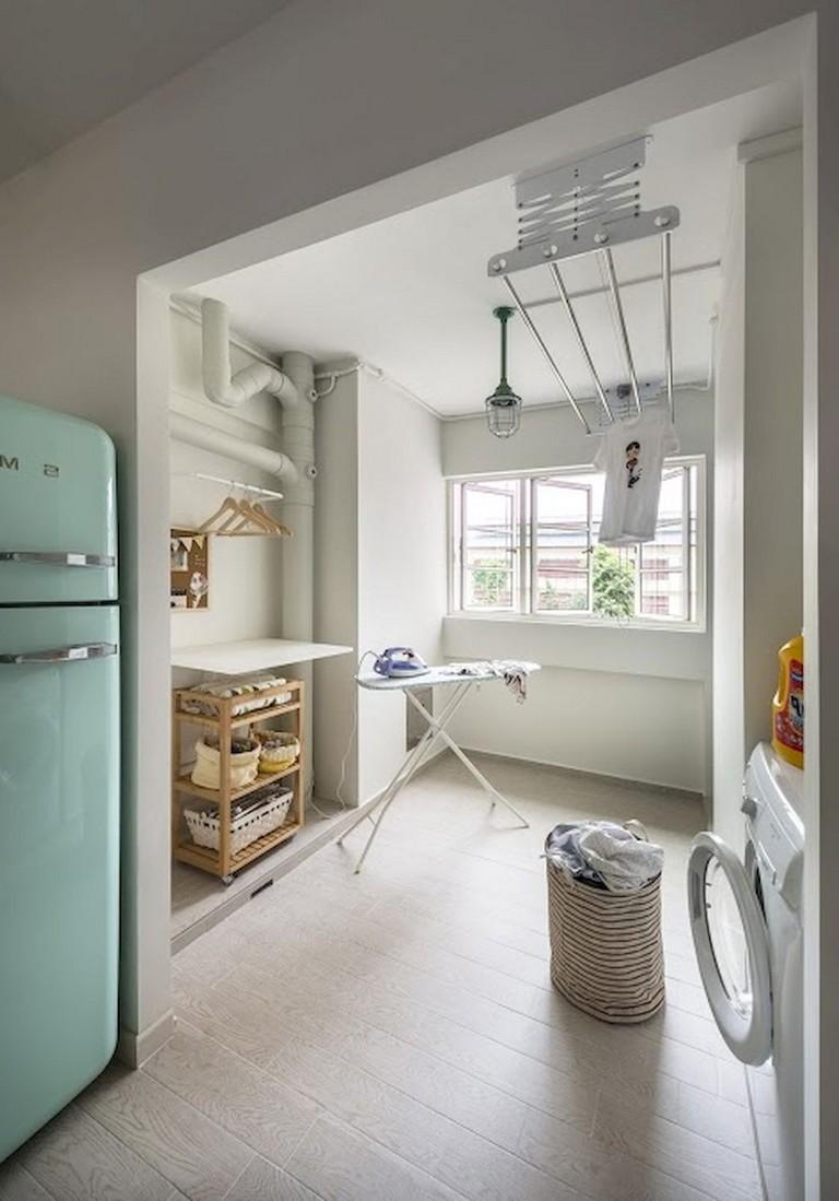 15+ Amazing Scandinavian Laundry Room Design Ideas For ... on Amazing Laundry Rooms  id=85212