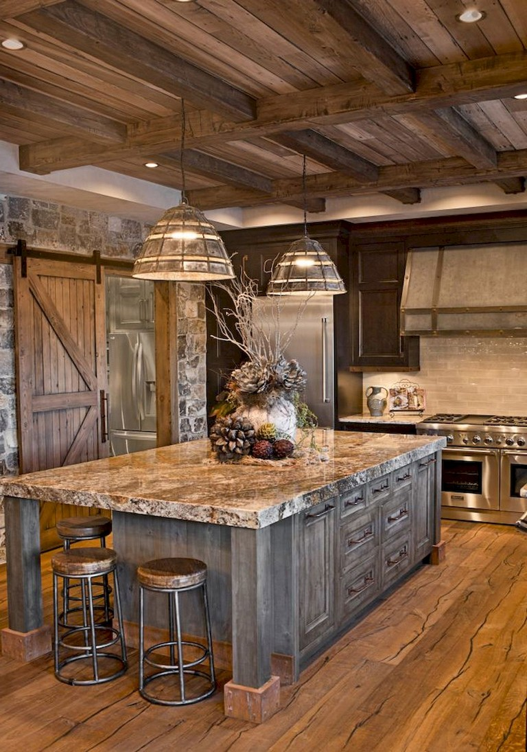 Image of: 31 Awesome Kitchen Designs Ideas With Rustic