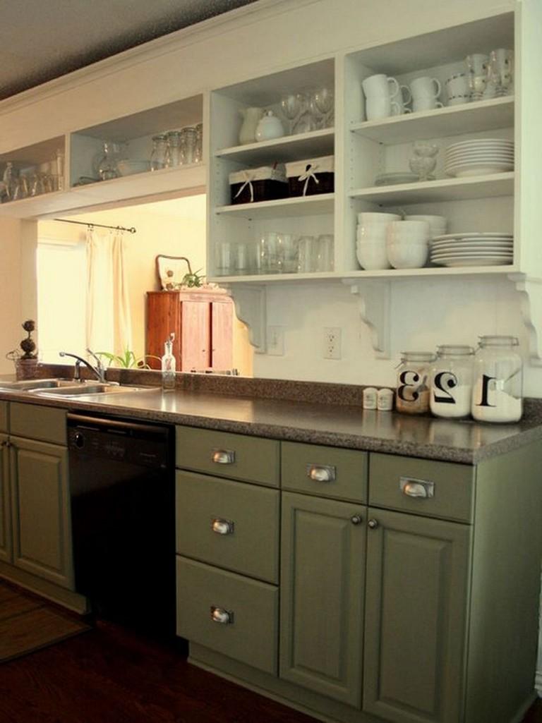 18 Best Open Upper Kitchen Cabinets Design Ideas For